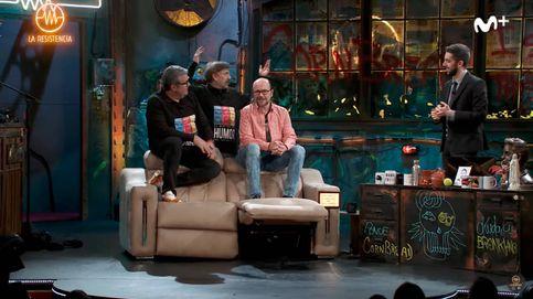 La surrealista entrevista a Flo,  José Mota y Santiago Segura en 'La Resistencia'