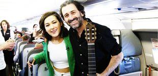 Post de Música celestial: el espectacular concierto de Nella y Javier Limón en pleno vuelo