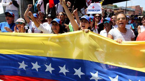 La oposición venezolana marcha por la población reprimida
