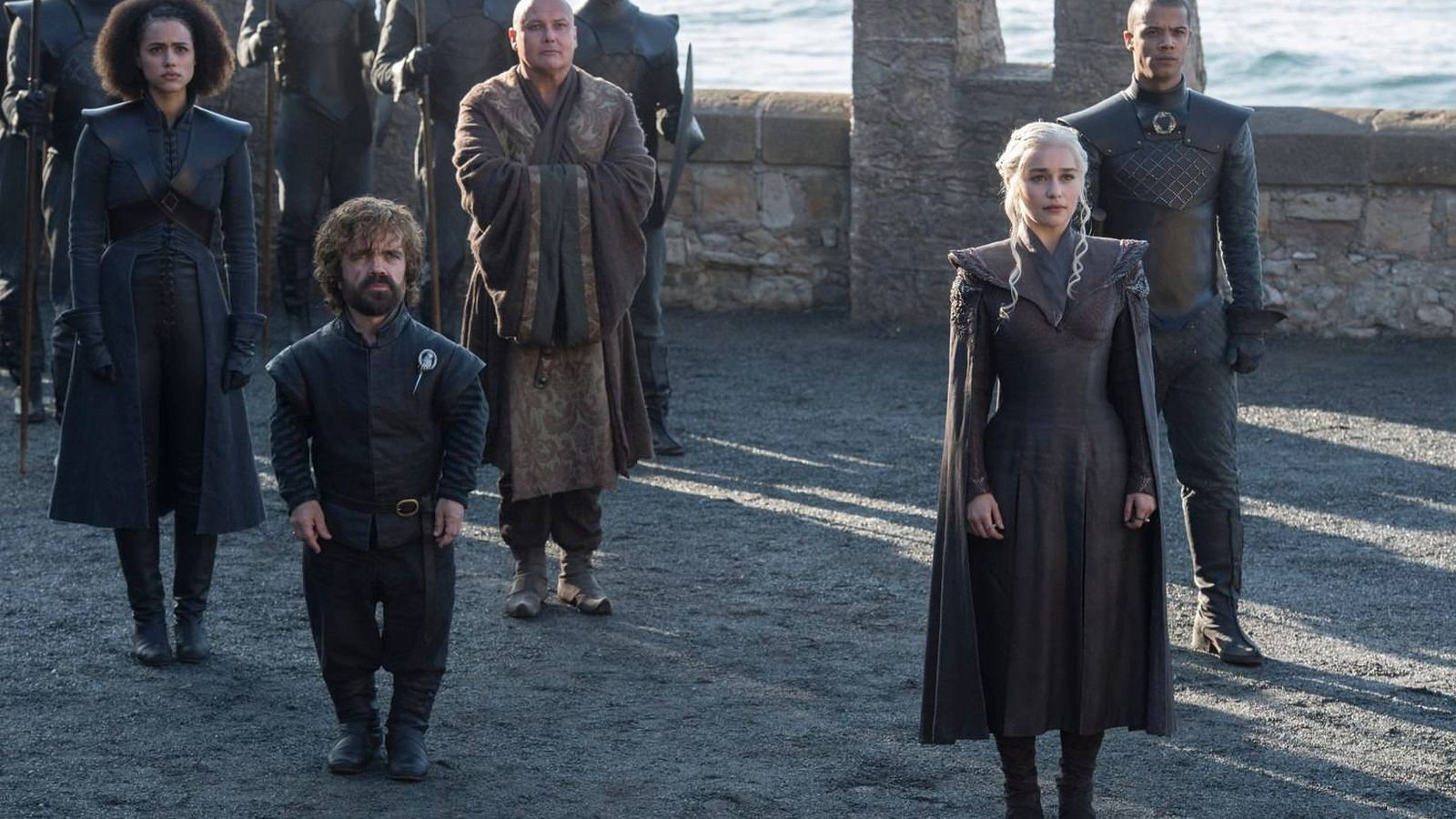Foto: Imagen del primer capítulo de la séptima temporada con Daenerys Targaryen llegando a Rocadragón