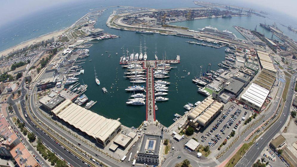 Foto: La Marina de Valencia fue sede de la America's Cup entre 2007 y 2010. (EFE)