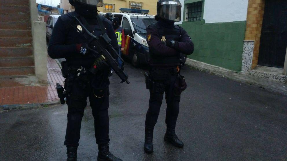 200 agentes desplegados en una operación antidroga en el Campo de Gibraltar