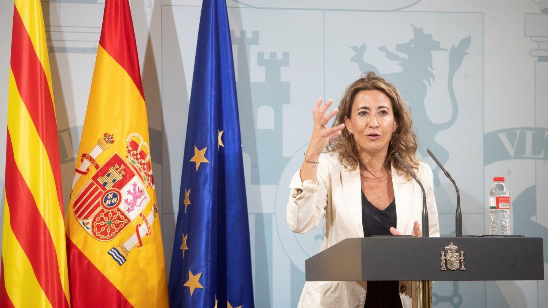 La ministra de Transportes, Movilidad y Agenda Urbana, Raquel Sánchez. (EFE)