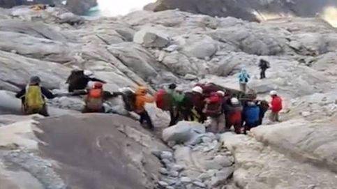 La 'receta mágica' en la montaña o cómo evitar una avalancha no prevista