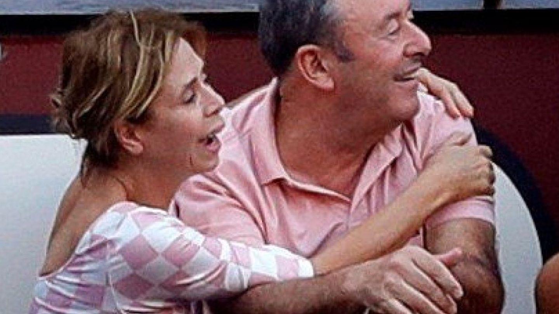 Ágatha Ruiz de la Prada y Luis Miguel Rodríguez, en una imagen de archivo. (EFE)