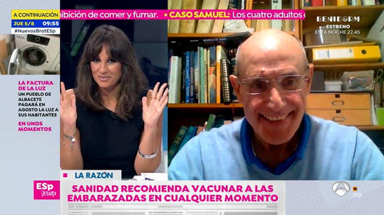 Lorena García, presentadora de 'Espejo público'. (Antena 3)
