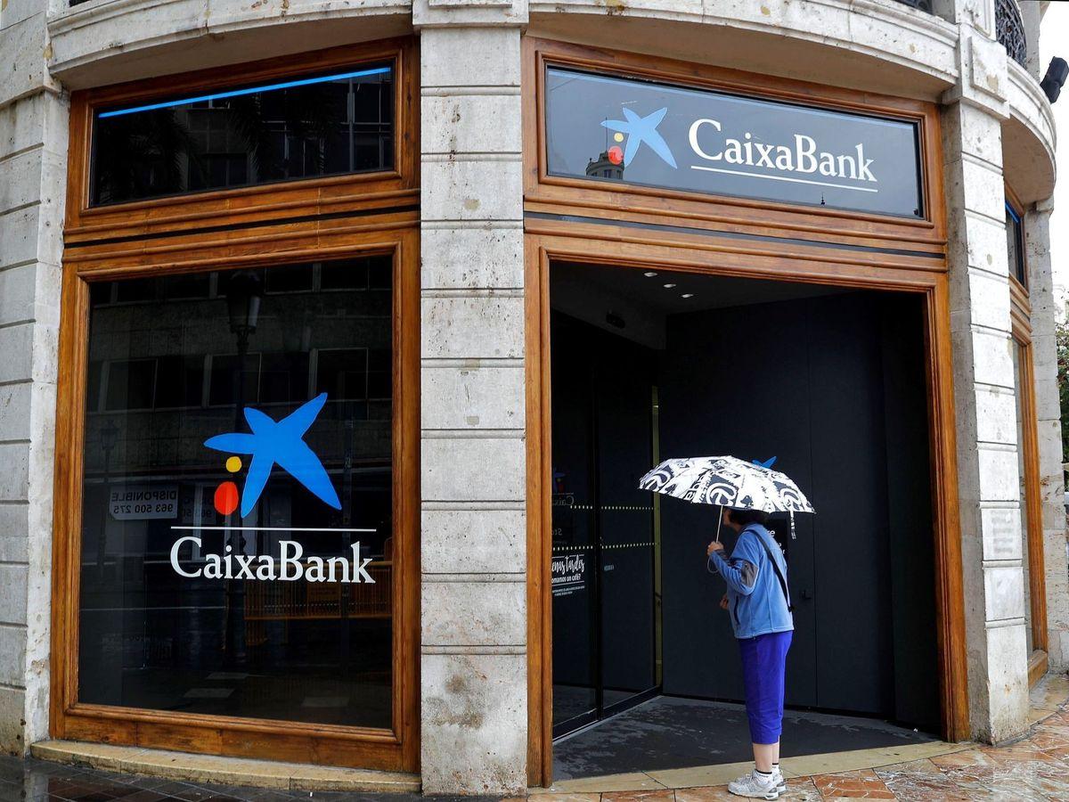 Foto: Sede de CaixaBank en Valencia. (EFE)