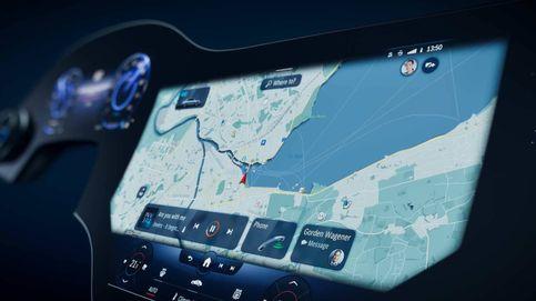 Mercedes EQS, una berlina eléctrica con una gran pantalla central
