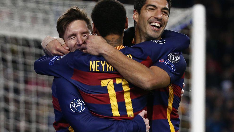 Neymar y Suárez, de servidores a aliados de Messi