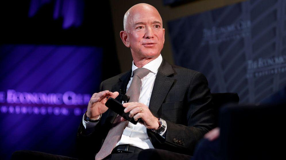 Foto: El fundador de Amazon, Jeff Bezos, en un acto en Washington. (Reuters)