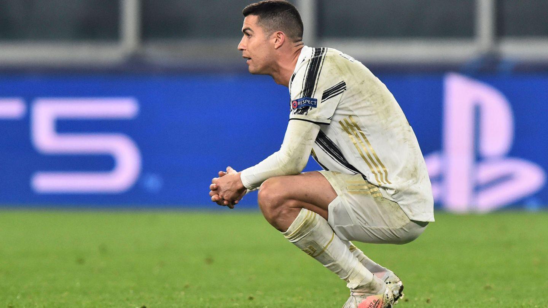 Cristiano Ronaldo, tras ser eliminado por el Porto en la Champions. (Reuters)
