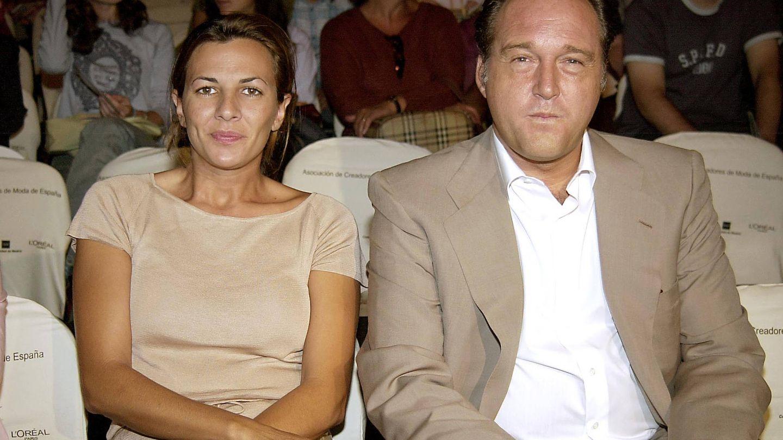 Pepe Barroso y Mónica Silva en 2002. (Gtres)
