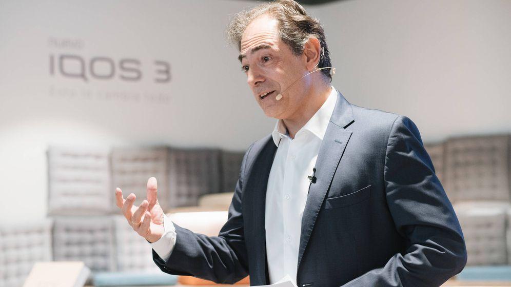 Foto: Enrique Jiménez, director general de Philip Morris.
