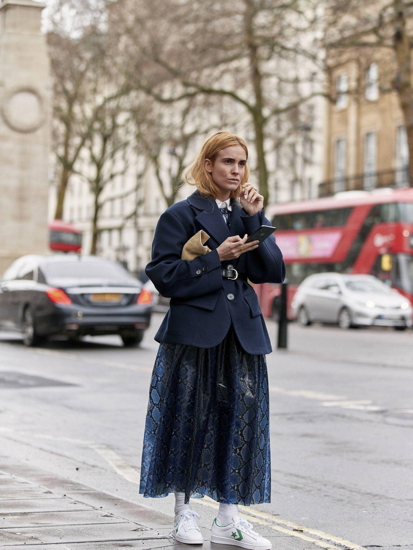 Blanca Miró, en Londres. (Imaxtree)