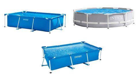 Las mejores piscinas desmontables para bañarte en cualquier sitio