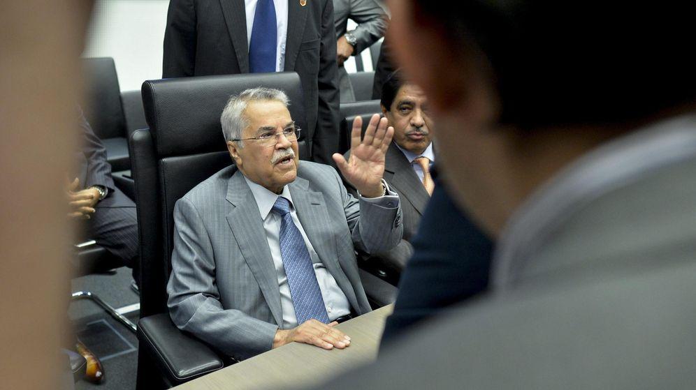 Foto: El ministro saudí de Petróleo, Ali I. Naimi