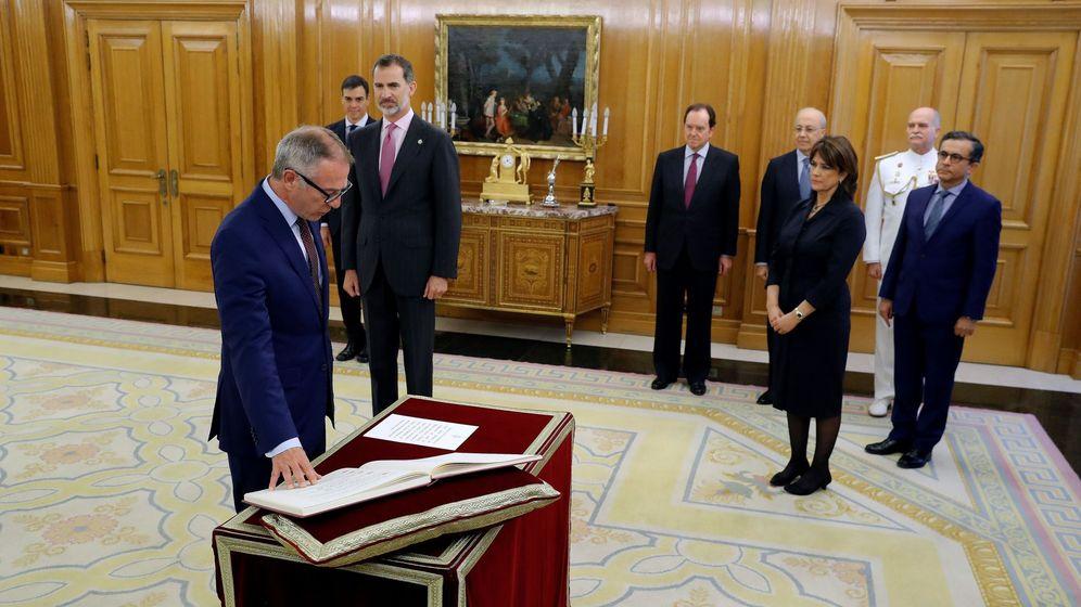 Foto: José Guirao promete su cargo ante el Rey. (EFE)