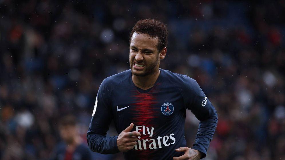 Foto: Neymar, durante el partido del Paris Saint-Germain contra el Niza. (EFE)