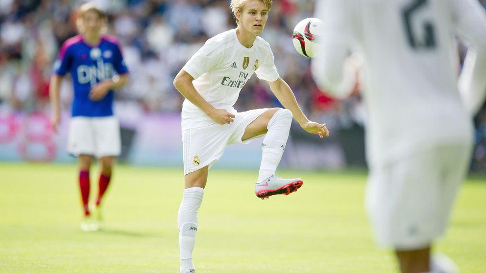 El Real Madrid, Benítez y Zidane ganan el pulso, de momento, a Odegaard