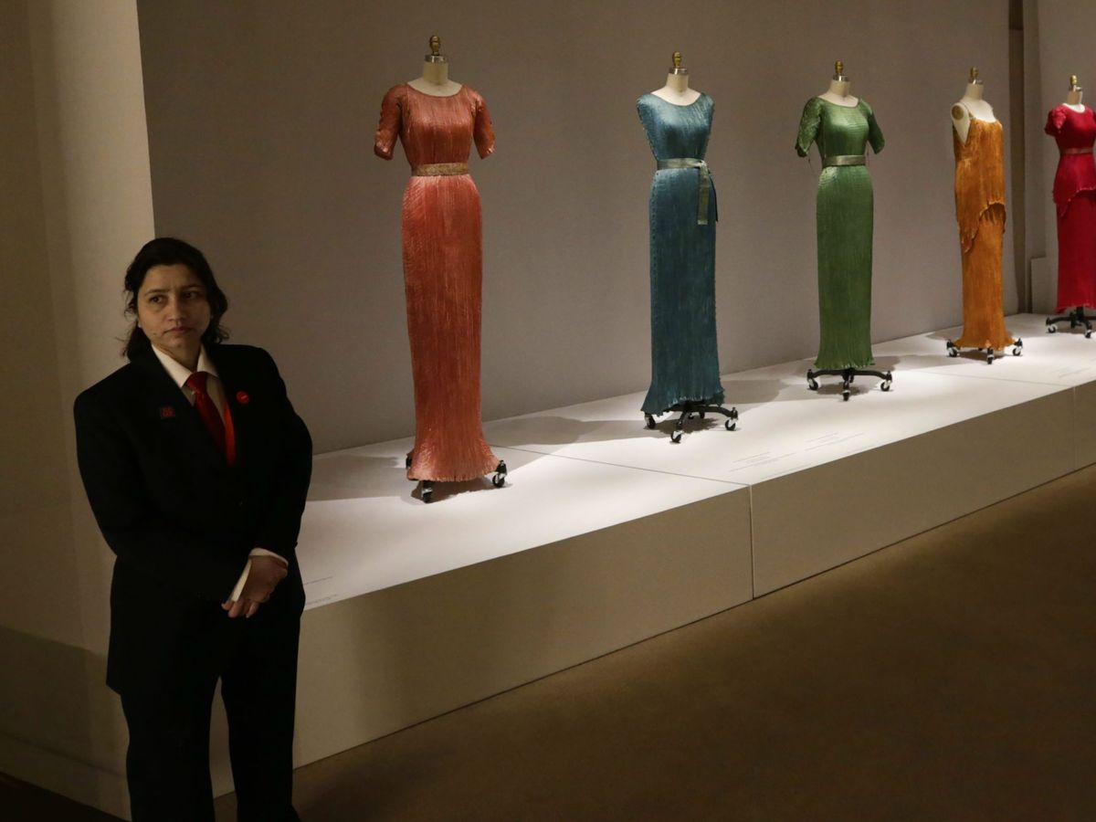 Foto: Exhibición del Costume Institute de Nueva York. (EFE)