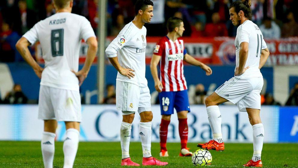 Atlético de Madrid-Real Madrid, sábado 19 de noviembre a las 20:45 horas