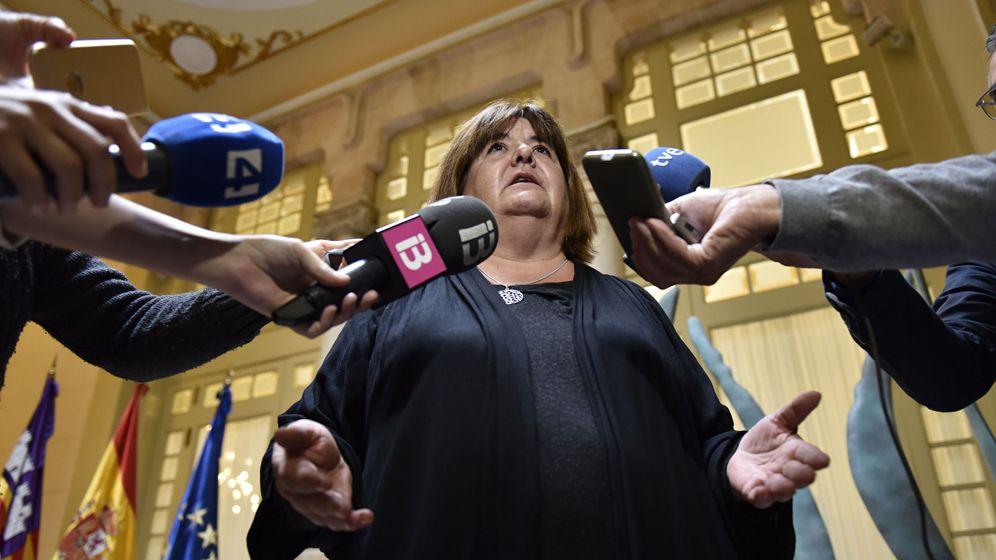 Foto: La hasta ahora presidenta del Parlamento balear, Xelo Huertas. (EFE)
