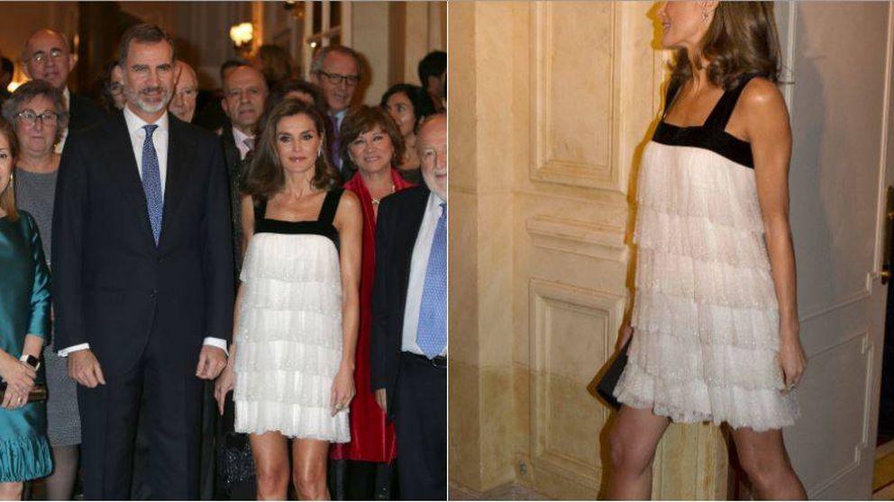 Letizia se equivoca con un look a lo Gran Gatsby