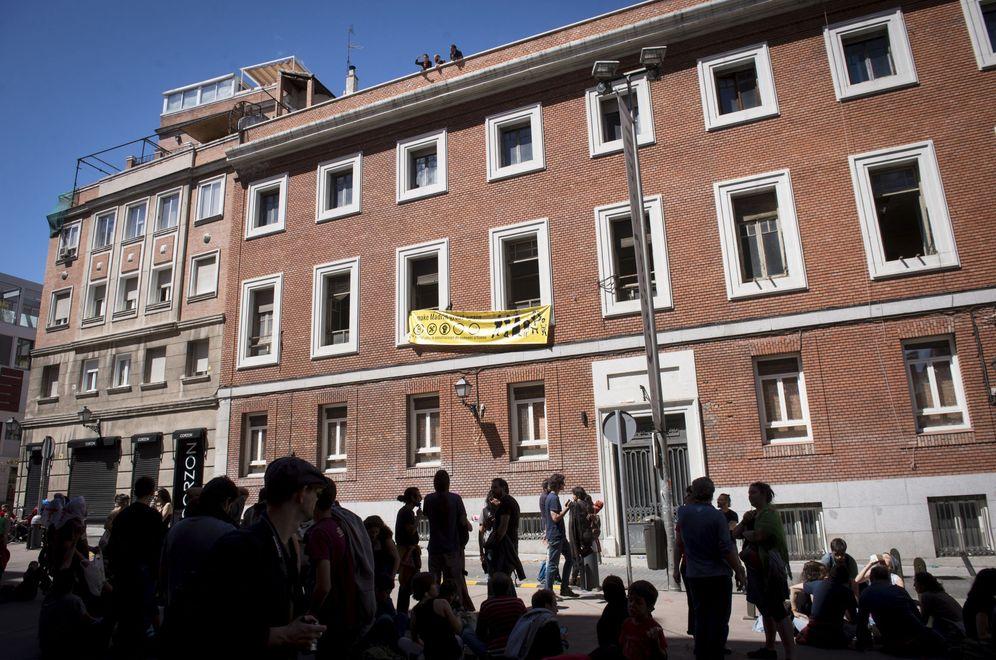 Foto: Okupación del edificio el pasado 6 de mayo. (EFE)