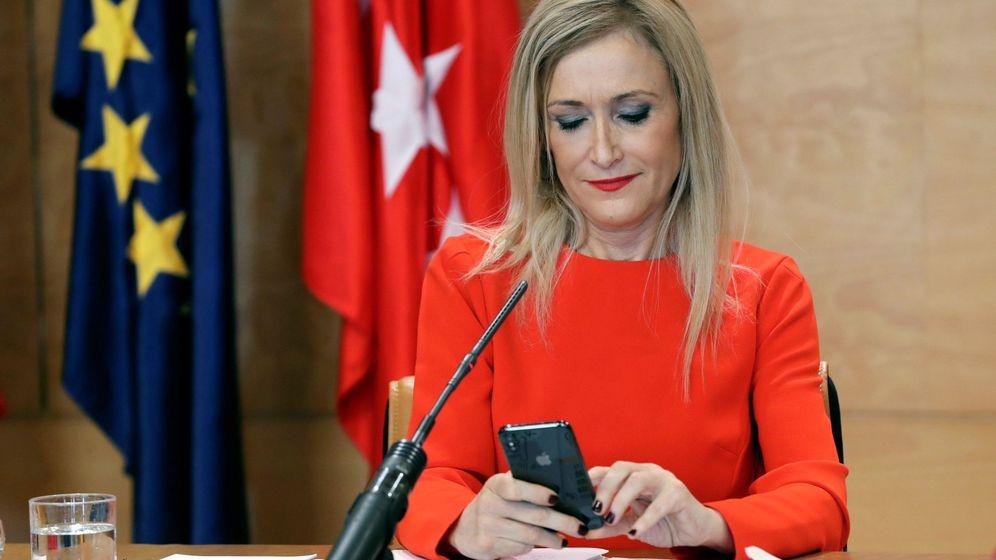 Foto: La presidenta de la Comunidad de Madrid Cristina Cifuentes. (EFE)