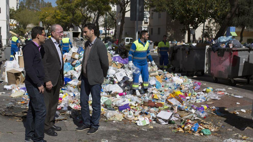 Remunicipalización de la limpieza: Málaga (PP) sucumbe... con el apoyo de la izquierda