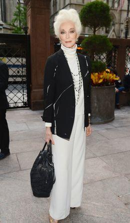Foto: La top model de 82 años Carmen Dell´Oreffice