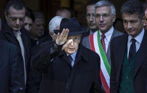 Dimite el presidente de la República Italiana, Giorgio Napolitano