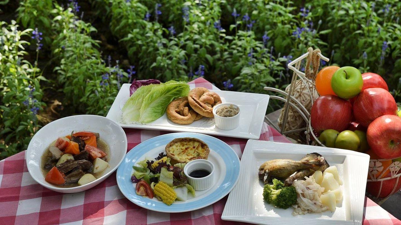No todos los alimentos sirven para un picnic.