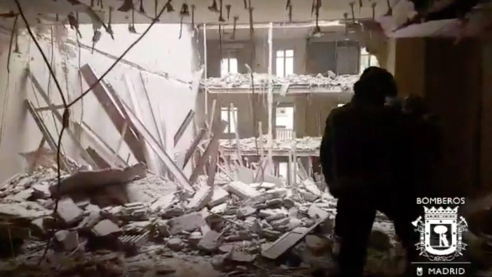 Sin rastro de los dos obreros del edificio derrumbado: Vamos a contrarreloj