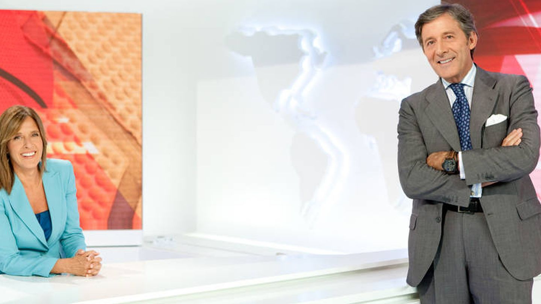 Ana Blanco y Jesús Álvarez. (TVE)