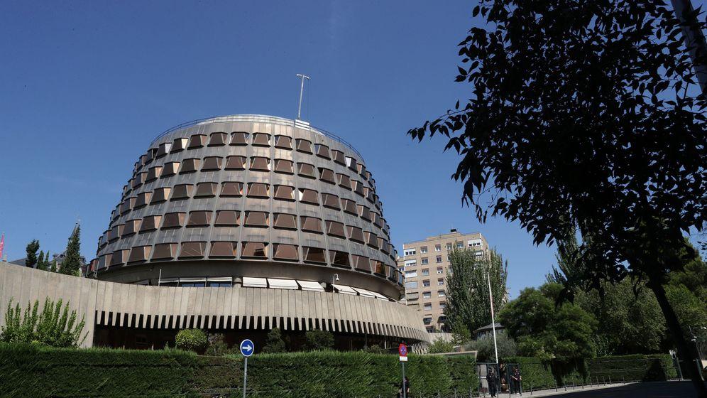 Foto: Vista tomada hoy del edificio del Tribunal Constitucional. (EFE)