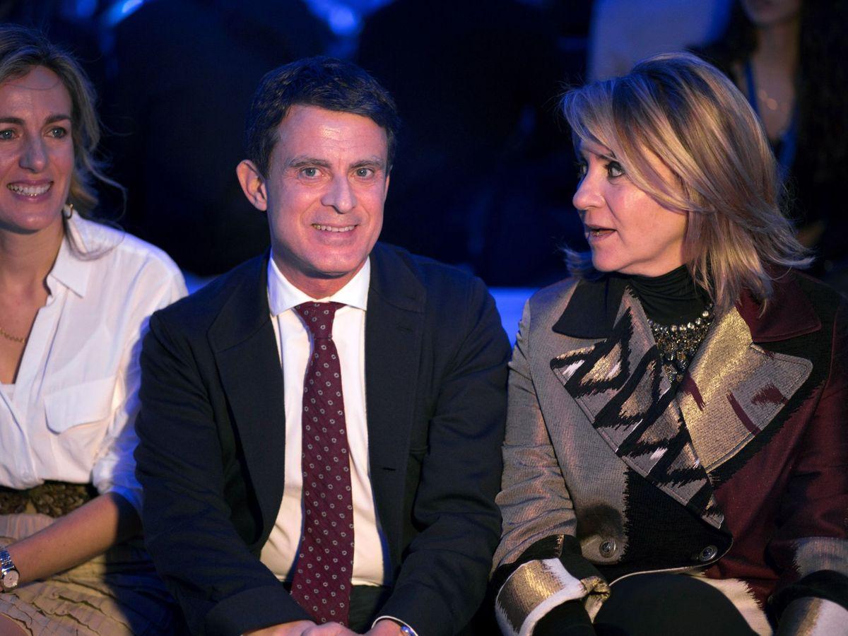 Foto: Susana Gallardo y Manuel Valls, en una imagen de archivo. (EFE)