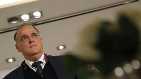 Tebas: Siento lo que pasa con el Barça, pero no voy a pedir perdón, no soy un hipócrita