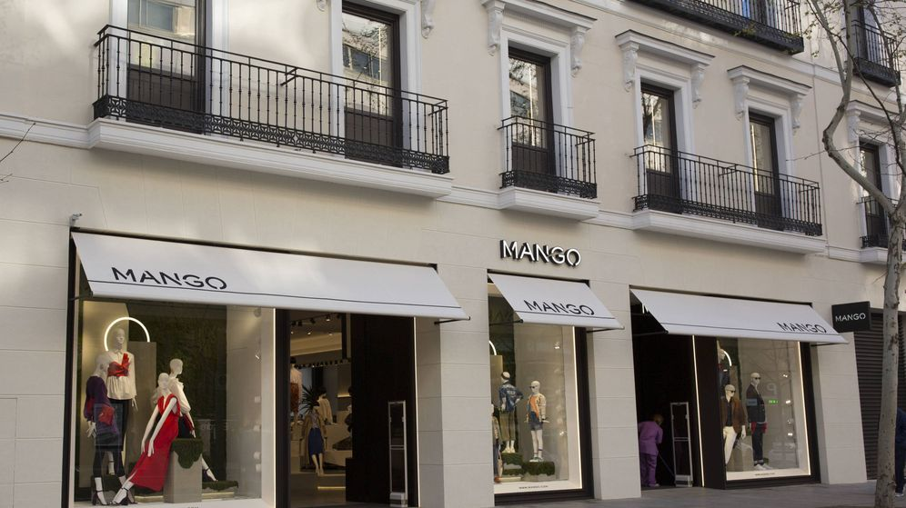 Foto: Tienda de Mango en la calle Serrano de Madrid. (EFE)