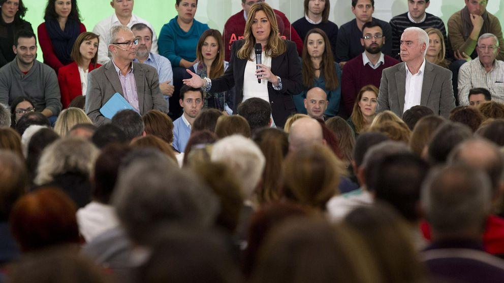 Ciudadanos se 'cuela' en Andalucía y Díaz afianza la victoria del PSOE
