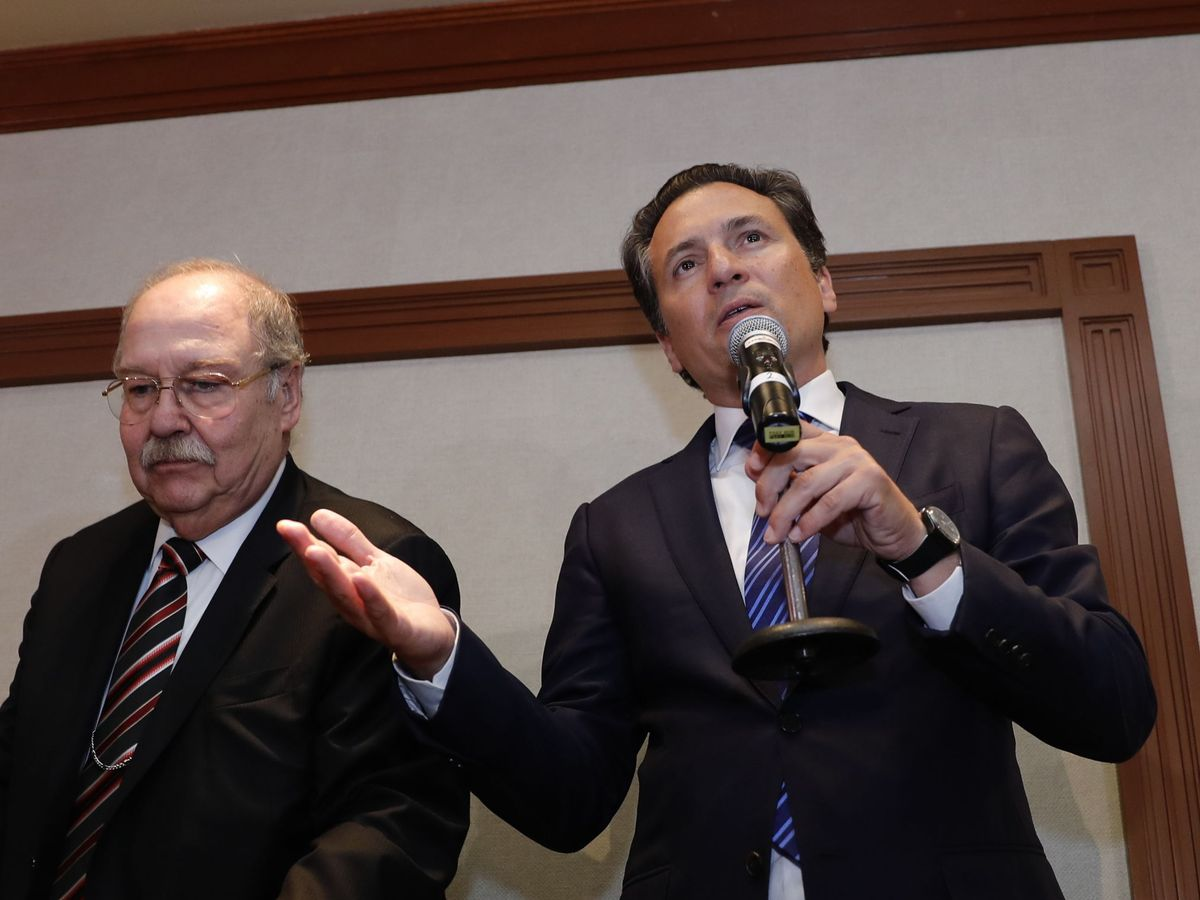 Foto: El exdirector de Petróleos Mexicanos (Pemex) Emilio Lozoya, en una imagen de archivo de 2017. (EFE)