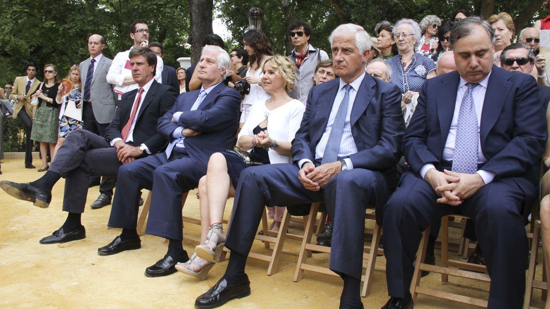Foto: Cayetano, Fernando, Carlos, Alfonso y Eugenia Martínez de Irujo (Gtres)