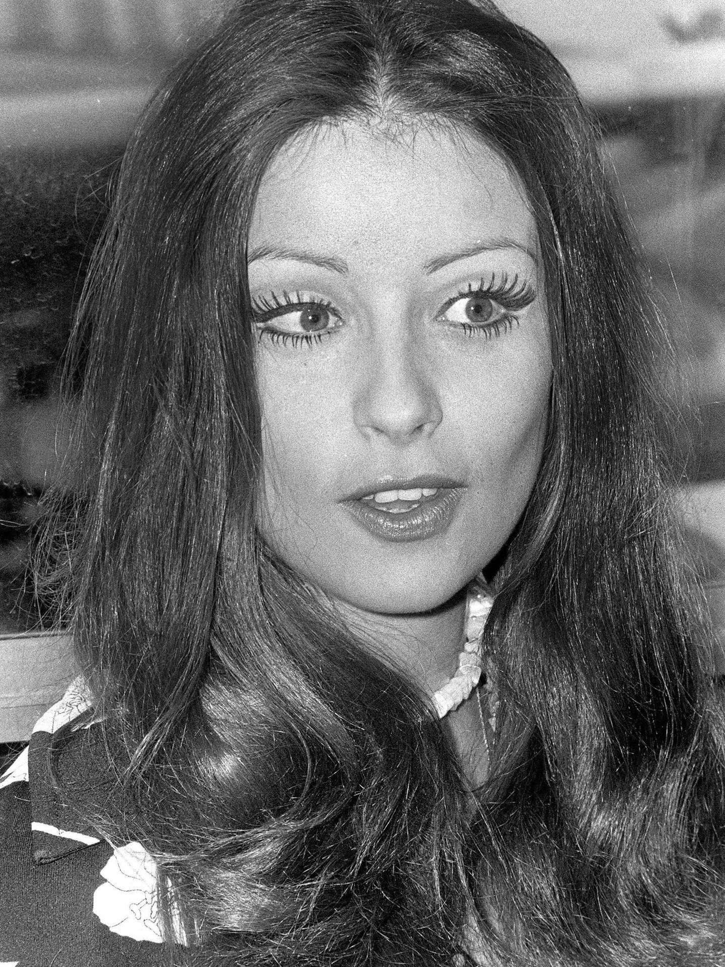 Amparo Muñoz en 1974. (EFE)