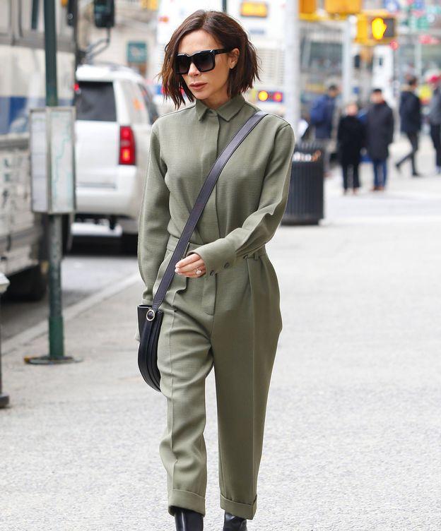 Foto: Victoria Beckham, por las calles de Nueva York, en una imagen de archivo. (Gtres)