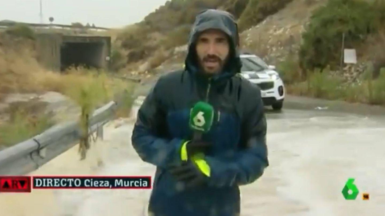 El reportero Paco Cerdán, en 'Al rojo vivo'. (La Sexta)