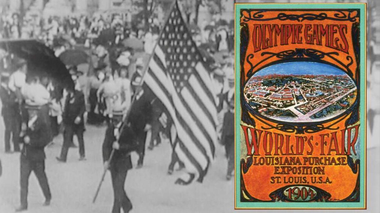 Juegos Olímpicos de San Luis (Estados Unidos), en 1904.