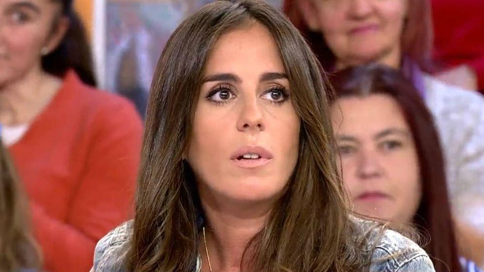 Foto: Anabel Pantoja en 'Sálvame'. (Mediaset España)