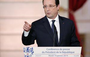 Hollande guarda silencio respecto a su affaire con Julie Gayet