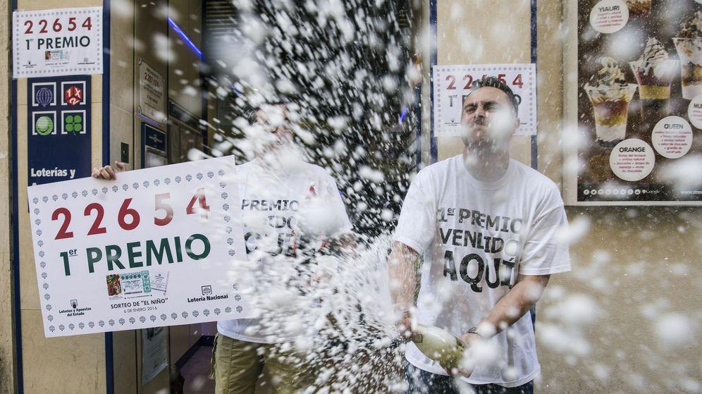 Foto: El año pasado, Málaga celebró el primer premio de la Lotería del Niño (EFE)