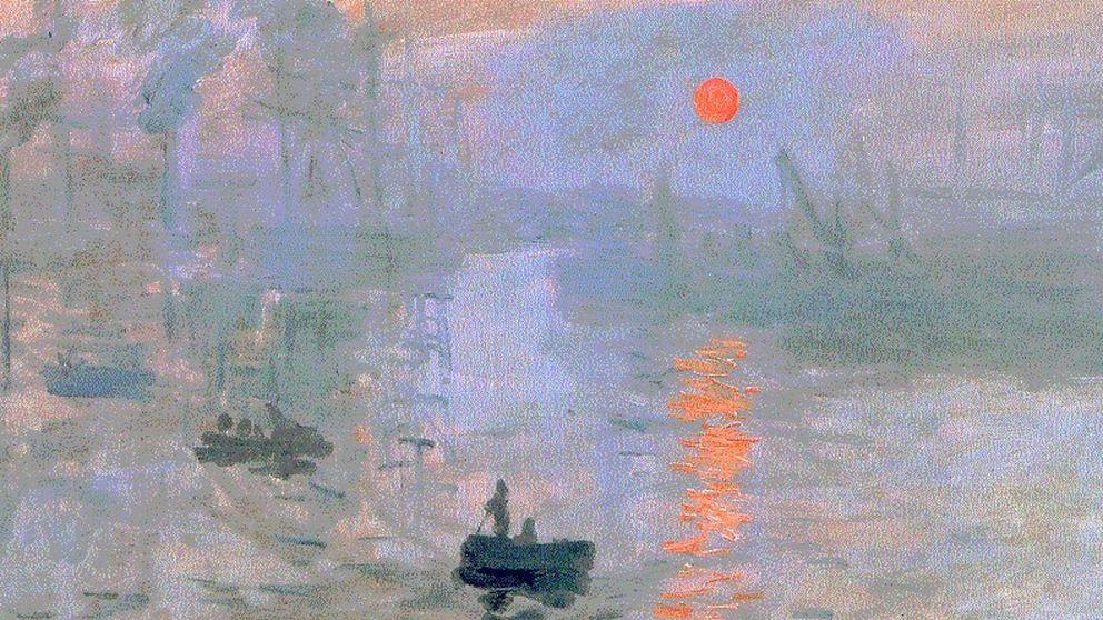 Claude Monet madrugó para inventar el Impresionismo